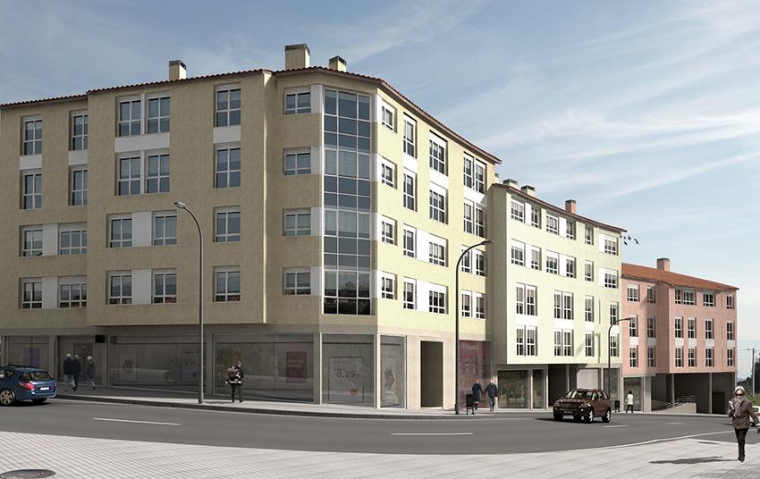 Edificios viviendas asturias lastra arquitectos for Oficina de correos gijon