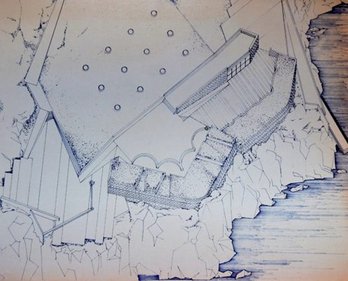 REHABILITACION FUERTE DEFENSIVO CIMADEVILLA PLANOS GIJON Lastra Arquitectos Gijon Asturias