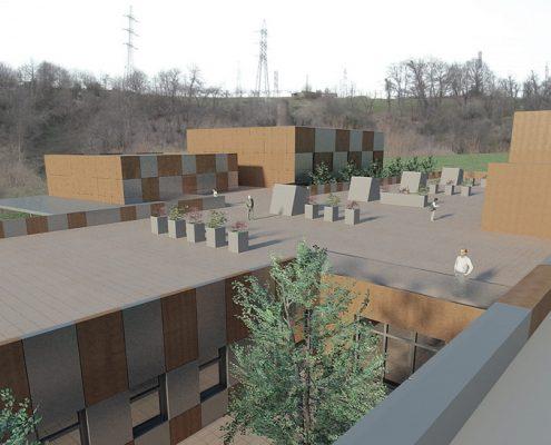 PROYECTO CENTRO PARA LA TERCERA EDAD Lastra Arquitectos Gijon Asturias