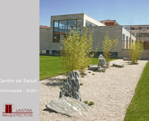 Lastra Arquitectos Gijon Arquitectos Asturias CENTRO SALUD CONTRUECES PATIO