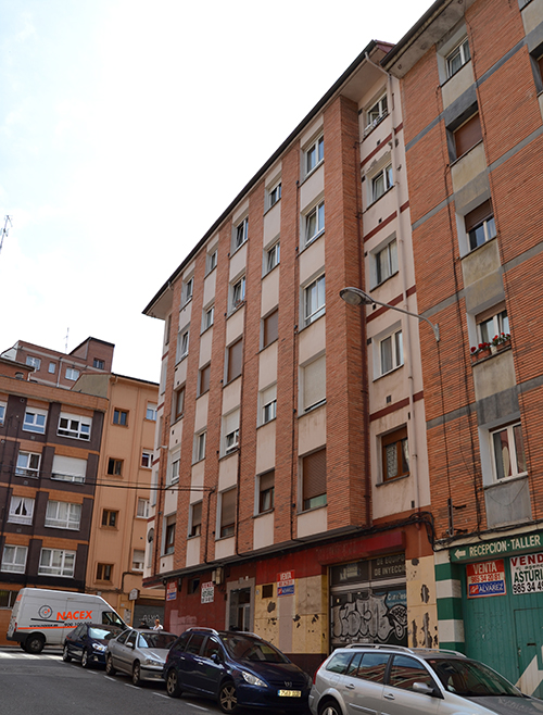 Lastra Arquitectos IEE ASTURIAS INFORME EVALUACION EDIFICIO EN GIJON CALLE PEÑALBA
