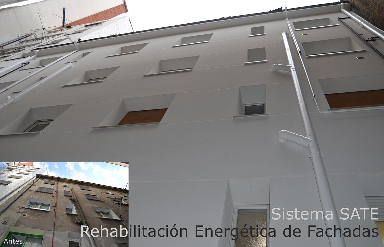 REHABILITACION DE FACHADAS GIJON SATE Lastra Arquitectos Gijon Asturias