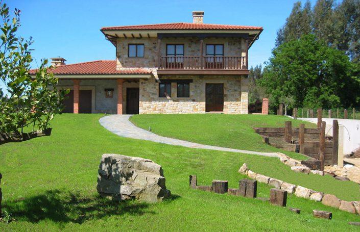 Lastra Arquitectos Gijon Asturias VIVIENDA CHALET GIJON