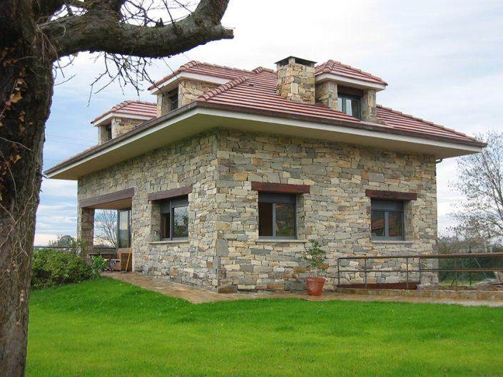 Lastra Arquitectos Gijon-Asturias VIVIENDA CHALET GIJON ASTURIAS