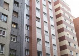 Rehabilitacion de Fachadas en Gijon centro