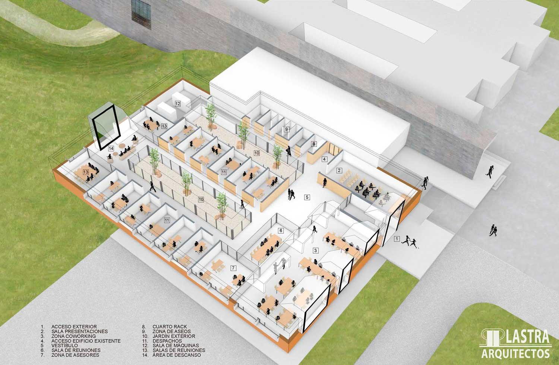PROYECTO CENTRO TECNOLOGICO Lastra Arquitectos Gijon