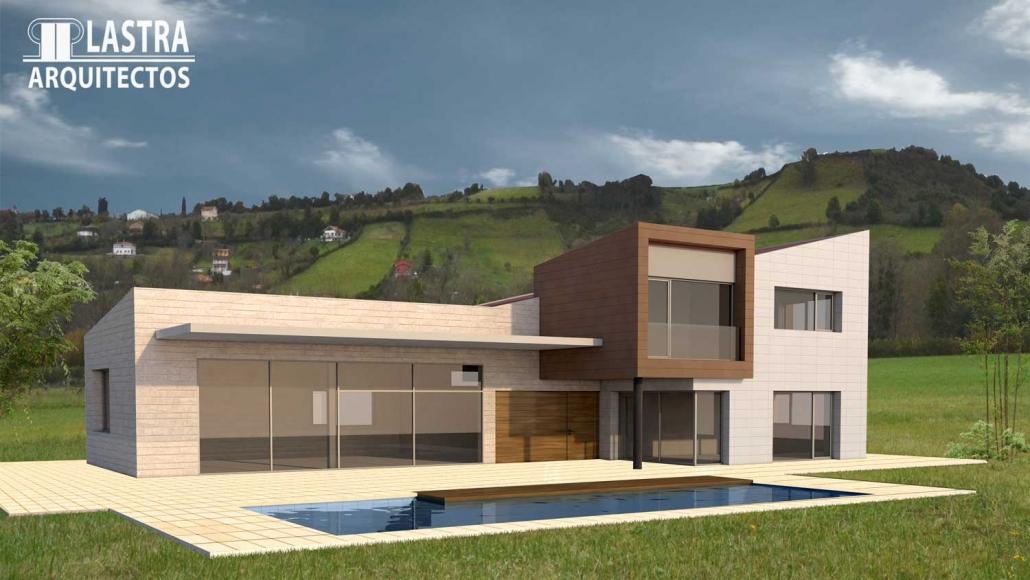 PROYECTO CHALET Lastra Arquitectos Gijon Asturias