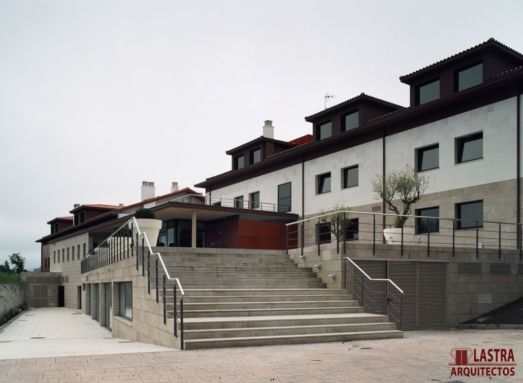 REHABILITACION EDIFICIO PARA HOTEL SPA LA LLOREA